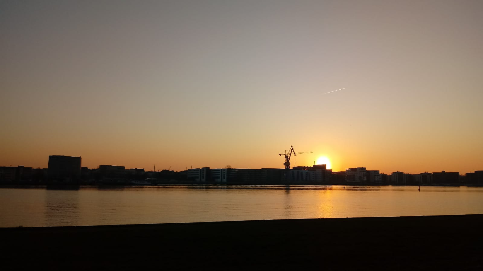 Sonnenuntergang Gehlsdorfer Ufer